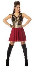 Glamouröse Kriegerin Damen-Kostüm Schwarz//Gold Leg Avenue GoT LARP Mittelalter