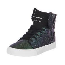 Supra Sneakers Kids Skytop Black Sequin Cornerstone Nero