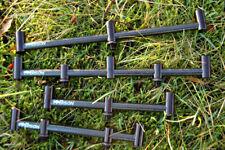 Bison nero in alluminio e fibra di carbonio GOAL POST / SINGOLO POST BUZZ BAR tutte le taglie