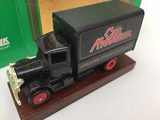 LLEDO LP28 Mack Canvas Back Trucks British Coal MCN NPC Car Modeller Australian