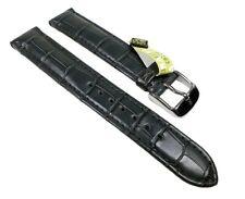 Graf Manufaktur Louisiana Ersatzband Uhrenarmband Krokodilleder Graugrün 22727S
