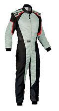 OMP KS-3 Suit Grey Go Karting Racing Overall CIK 3 Layers 2019
