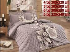 Bettwäsche Bettgarnitur Bettbezug 100% Baumwolle Kissen Decke GÜLDESTE VARIANTEN