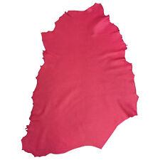 Pink Genuine Lamb Skin Hides Nappa Leather Soft Thin Tanned Sheepskin Fabric 902