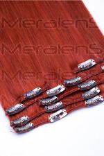 Clip In Extensions Remy Echthaar Haarverlängerung 16 Clips 7 Tressen 60 cm