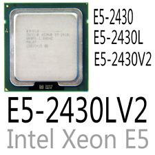 intel Xeon E5-2430 E5-2430L E5-2430L V2 E5-2430 V2  CPU Processor