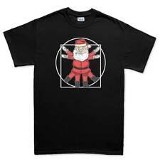 Vitruvian Santa Claus Xmas Christmas Gift New Mens T shirt Tee Top T-shirt