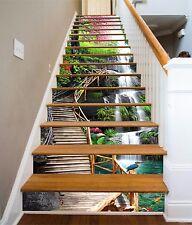 3D Nature Flower 77 Stair Risers Decoration Photo Mural Vinyl Decal Wallpaper AU