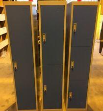 Metal 1,2,3,4,5 or 6 Door Key Lockable Staff / Gym / Storage Locker (Collection)