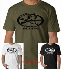 DUCK GAME BIRD SHOOTING hunting t-shirt, woodcock, pheasant, duck commander tee