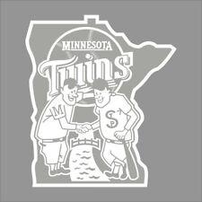 Minnesota Twins #8 MLB Team Logo 1 Color Vinyl Decal Sticker Car Window Wall