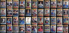 1986 Fleer Baseball Best Sluggers Vs Pitchers Baseball Cards You Pick From List