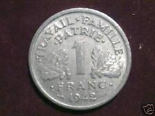 1 FRANCS BAZOR 1942