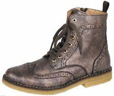 Zecchino d'Oro F16-4611 2022 Stiefeletten Boots Metallic Budapester Gr 35-40 Neu