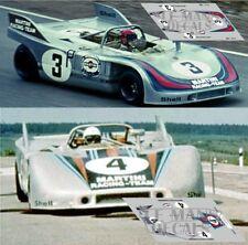Calcas Porsche 908/03 Nurburgring 1971 1:32 1:43 1:24 1:18 64 87 908 03 decals