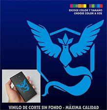 PEGATINA VINILO - Pokemon Go Team Mystic - AUFKLEBER - Sticker - ADESIVI  Blue