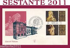 VATICANO FDC ALA 164 1977 MUSEI VATICANI ARTE CLASSICA (147)