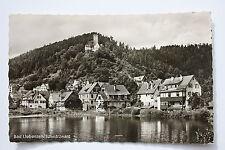 13515 AK W-7267 Liebenzelt Schwarzwald Häuser am Ufer 1964
