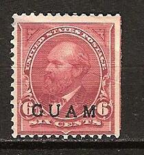 U.S. Guam Island # 6 Mint President Garfield