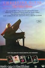 FLEETWOOD MAC CHRISTINE MCVIE 1984 VIDEO ALBUM POSTER ORIGINAL