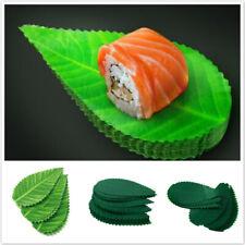 Fake Sushi Leaf Dish Decor Tableware Sushi Grass Plate Japanese Food Cooking CF