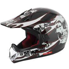 Vcan V310 Off Road Motocross/Atv Casco Calavera