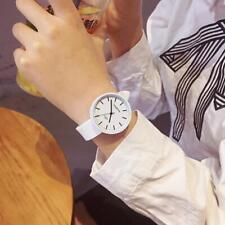 Japanese Women Quartz Wristwatches Silicone Strap Round Dial Watches #Cu3