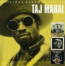 TAJ MAHAL - ORIGINAL ALBUM CLASSICS: TAJ MAHAL/THE NATCH'L BLUES/MO' ROOTS NEW C