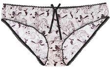 PASSIONATA slip culotte blanc noir sexy lingerie neuf avec étiquettes