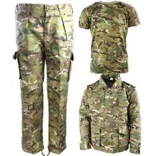 Niños Soldado Del Ejército Disfraz infantil 3-13 Años Pantalones CAMISETA ABRIGO