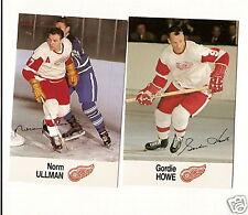 1988 Esso Detroit Redwings Team Set GORDIE HOWE