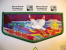 OA O Shot Caw 265 S-33,1993 Lodge LEC, Tough,GRN Border,South Florida Council,FL