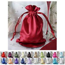 "12PCS Satin Gift Bag Drawstring Pouch Wedding Favors Jewelry Bags - 5""x7"""