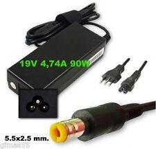 Alimentatore carica-batteria x HP COMPAQ,Dell 19V 4,74A 90W SPINOTTO 5.5x2.5mm