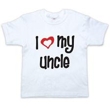 J'aime ma ONCLE - Bébé / enfant T-shirt - 0-5yrs