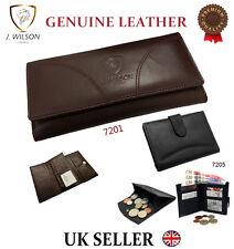 Ladies Designer J Wilson Genuine Leather Wallet Women Quality Clutch Purse Card