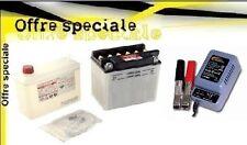 Batterie YB4LB 12 v 4 ah avec acide + chargeur H-TRONIC  AL300 Pro booster nitro