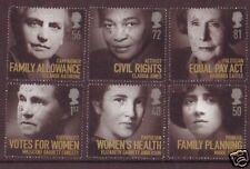 Gran Bretaña 2008 mujeres de distinción Set 6 bien utilizado.