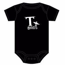 Il grasso T-Birds Babygrow Rydell Alta T Birds Tutina Giubbotto PINK LADIES 0-18 mesi