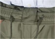 Da Uomo Elastico in Vita Rugby Pantaloni Pants W32-W48 L 27 29 31