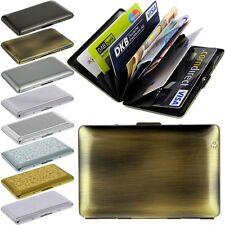 Smartcaze in acciaio inox carte EC ASTUCCIO carte di credito Portafoglio Astuccio Metallo Portafoglio