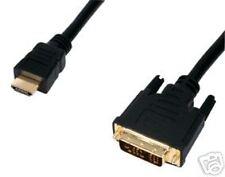 HDMI zu DVI Kabel doppelt geschirmt 24k gold 2,5m