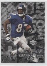 2000 Upper Deck Black Diamond #9 Qadry Ismail Baltimore Ravens Football Card