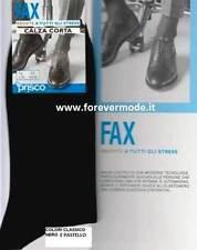 6 Paia Calze uomo Prisco Riposanti corte in cotone, massaggio continuo art Fax C