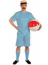 1920s 1930s Beachside Clyde Retro Beach Swimming Bathing Suit Men Costume