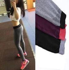 DONNA CORSA Yoga Fitness Leggings palestra sport pantaloni