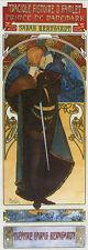 Mucha Hamlet Shakespeare Danemark Vintage Poster Repro FREE SHIPPING