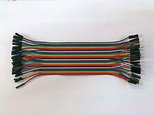 Jumper Wires Steckbrücken Testkabel Drahtbrücken 20cm Arduino 3 Varianten