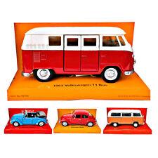 Volkswagen Modell-Auto Metall 11,5cm VW Welly Bus Käfer T1 T2 Spielzeug-Auto