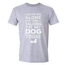 Leave Me Alone Dog T-shirt Bone Labrador Shepherd Bulldog Pug Poodle Pet Animals